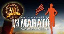 XXX Cursa de la Vall del Tenes  - 1/3 de Marató